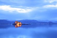 Bourtzi Castle At Dusk, Nafpli...