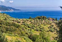 Aegean Sea Coast, Mount Athos,...