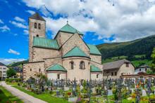 Colligiate Church, Innichen, Puster Valley, Alto Adige, Italy