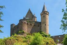 View At Vianden Castle, Kanton Vianden, Luxembourg
