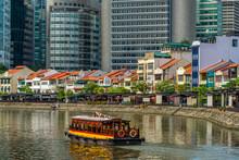 Singapore River And City Skyline, Singapore