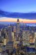Usa, New York City, Manhattan, Midtown, Rockefeller Center, Top of the Rock Observatory