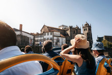 Porto, Portugal. Tourists On O...
