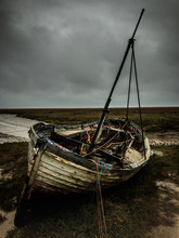 Battered Fishing Boat On The M...