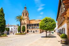 Square With Church In Ronda Vi...