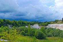 Landscape With Sandy Cliffs An...
