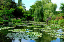 Beautiful Garden Of Giverny Of...