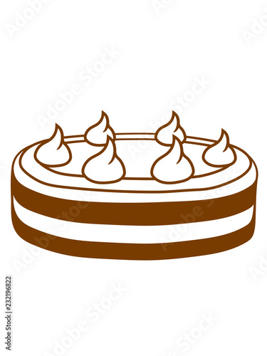Fotografía  lecker kuchen essen hunger backen küche bäcker bäckerin sahne torte dick fett di