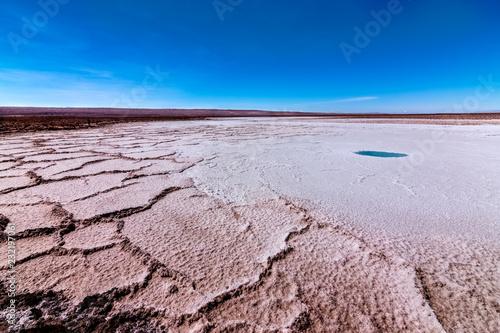Fotografía  Laguna escondida en Atacama