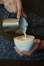 Latte In Hands
