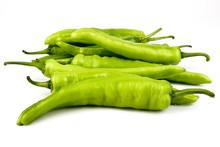 Fresh Green Banana Peppers Or ...