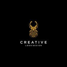 Jewelry Logo Design Inspiration, Bug Logo Design, Beetle Logo Design Inspiration