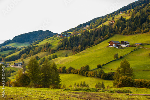 Spoed Foto op Canvas Honing Val Di Funes, Italy