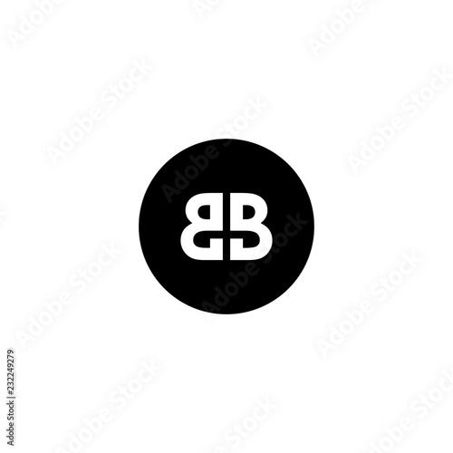 Photo bb logo vector donwload template