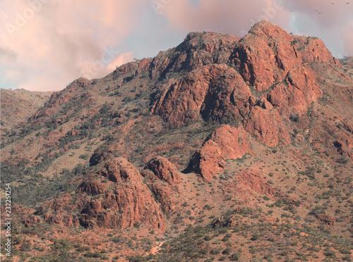 Tuinposter Flinders Ranges Outcrop- Arkaroola, SA