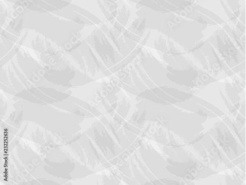 Fototapety, obrazy: Vector Seamless Grunge Pattern, Rough Light Gray Background.
