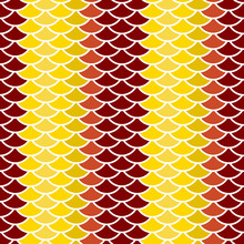 Seamless Pattern Abstract Scales Simple Background With Circle Pattern White Khaki Beige Brown Burgundy Orange. Can Be Used For Fabrics, Wallpapers, Websites. Vector