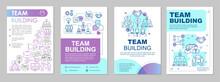 Team Building Brochure Template Layout