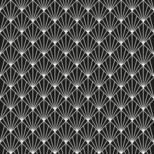 Seamless Art Deco Pattern Background