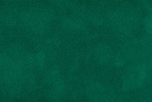 Dark Green Matt Suede Fabric C...