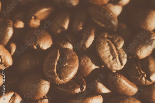 Wall Murals Cafe coffee cocoa beans