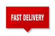fast delivery red tag
