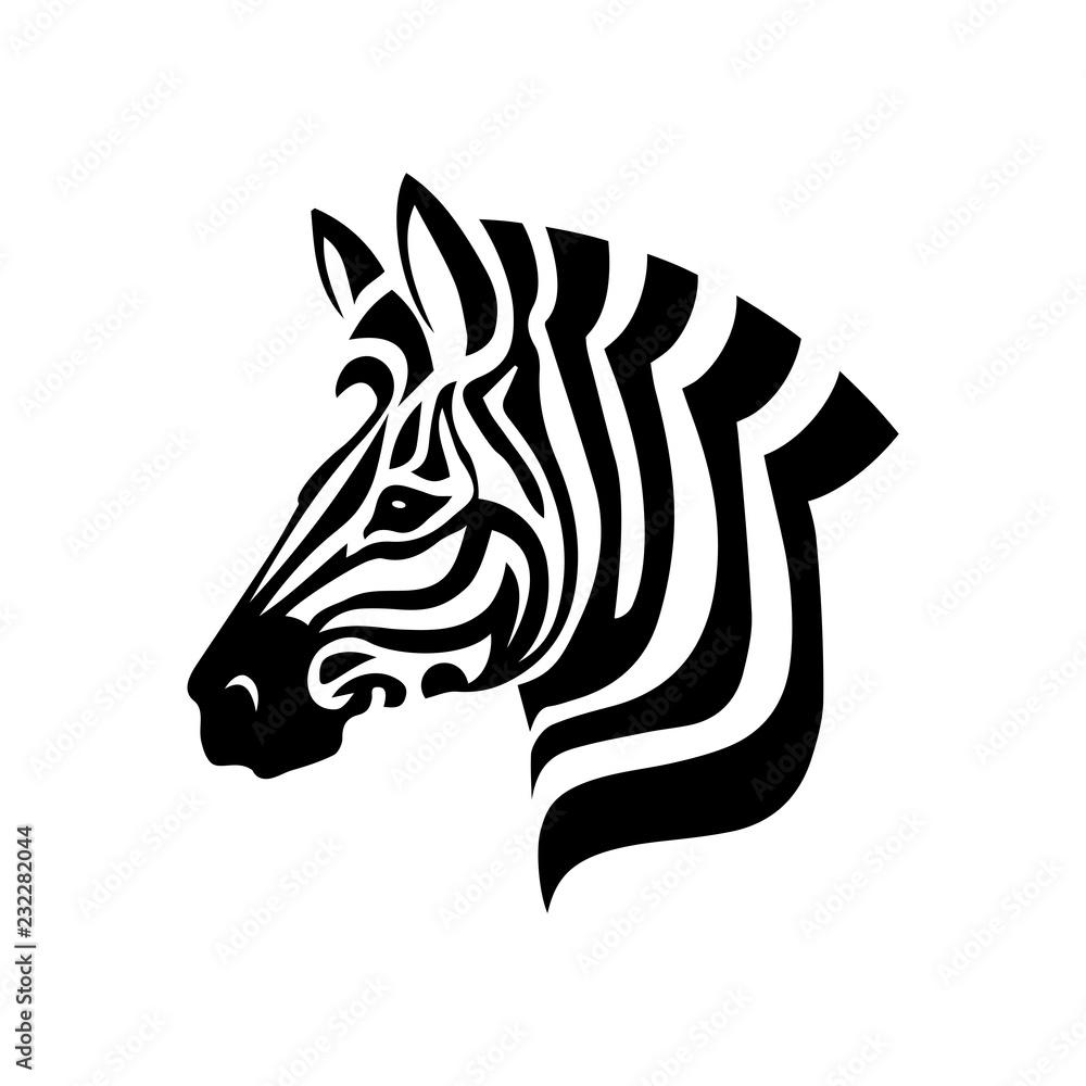 Fototapety, obrazy: Zebra Head