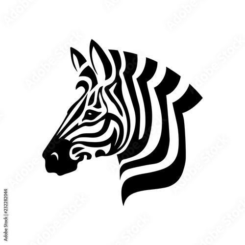 Fototapeta Zebra Head obraz