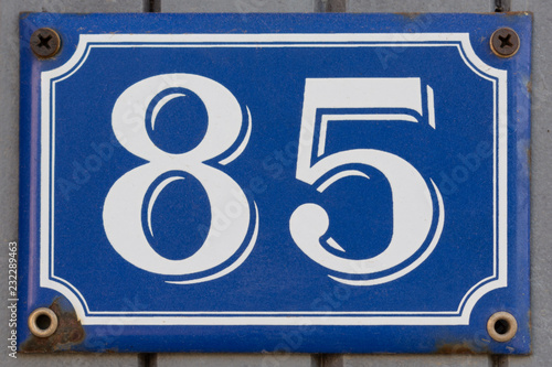 Fotografia  House Number Eighty Five 85