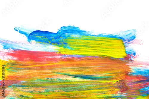 Fototapety, obrazy: Watercolor colorful drawing