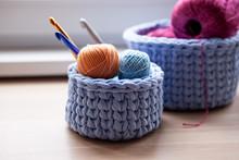 Crochet Home Basket,