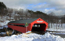 Taftsville Covered Bridge In W...