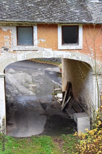 Fotografie, Obraz  verfallende Mühle