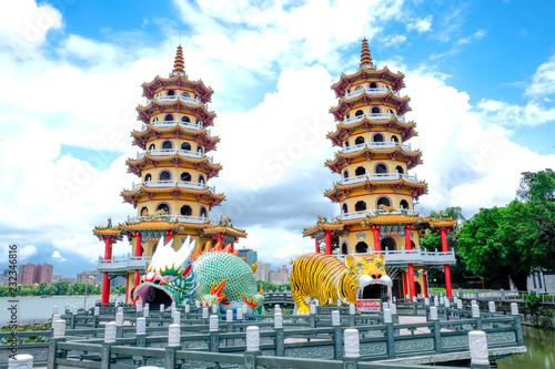 Papiers peints Con. ancienne Temple of Kaohsiung in Taiwan