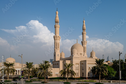 Jumeirah Moschee in Dubai Tablou Canvas
