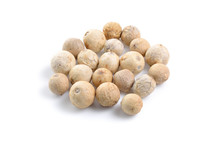 White Pepper Seed Isolated On ...