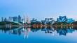 Day to Night Kuala Lumpur Cityscape Of Malaysia 4K Time Lapse