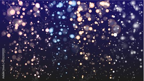 Obraz na plátně  Sparkling, shiny Background Christmas