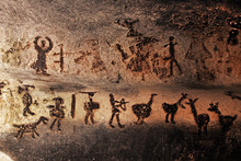 Prehistoric Mural Drawings In ...