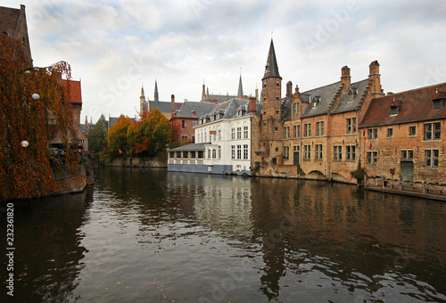 Wall Murals Bridges Bruges channel