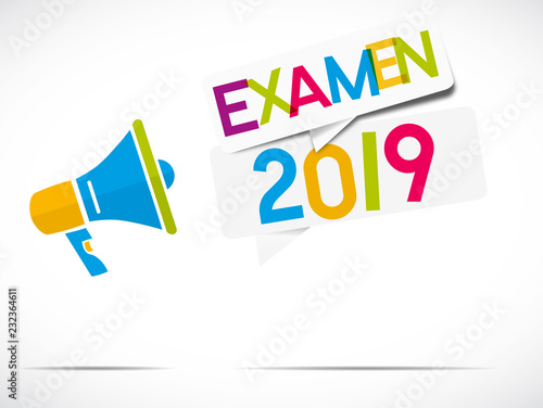 Foto  mégaphone : examen 2019