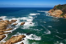 View Of The Mouth Of The Indian Ocean At The Knysna Heads, Western Cape, South Africa, Africa