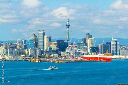 Fotografía  Auckland View from Mt Victoria Devonport Auckland, New Zealand