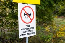 Znak Zakazu Wykonywania Lotów...