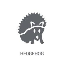 Hedgehog Icon. Trendy Hedgehog...