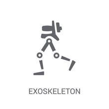 Exoskeleton Icon. Trendy Exosk...