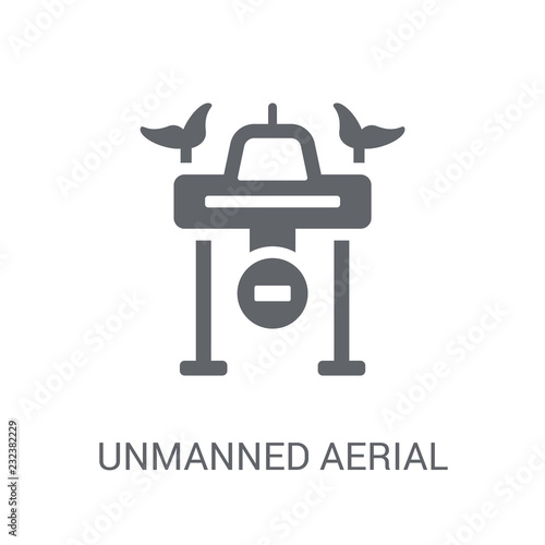 Photo  Unmanned aerial vehicle icon