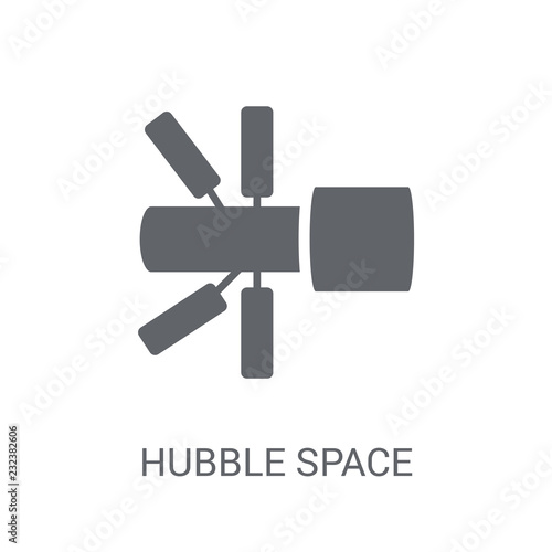 Fototapeta Hubble space telescope icon