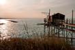 pier on stilts for fishermen