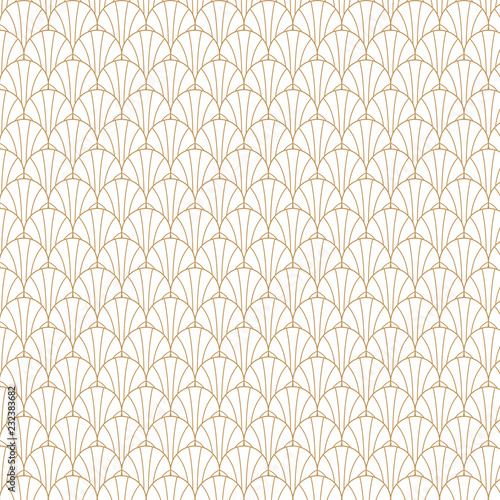 Photo  Geometric Gatsby Art Deco Pattern Design